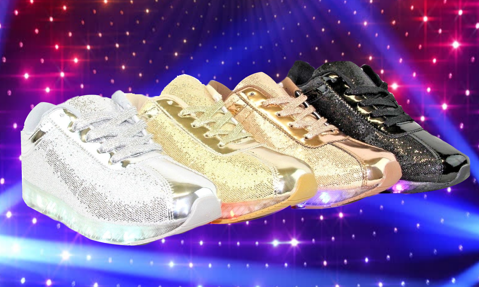 adc55b322b1e1 LED Sequin Sneakers – I NEED this for SERIOUS
