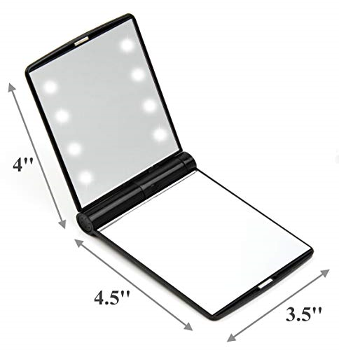 Lighted Travel Makeup Mirror I Need This For Serious